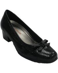 Doctor Cutillas Chaussures escarpins Sac à bandoulière pour femme amovible Do - Noir