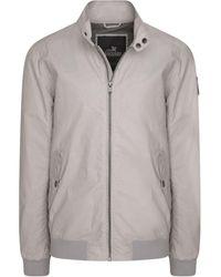 Vanguard Biker Jacket Off White Blouson - Multicolore