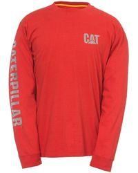 Caterpillar T-shirt - Rouge