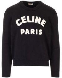 Celine MAILLE HOMME Pull - Noir