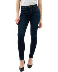 Street One 372802 12186 dark blue wash Jeans - Bleu