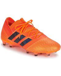 adidas Zapatillas de fútbol NEMEZIZ 18.1 FG - Naranja