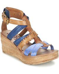 A.S.98 - Noa Women's Sandals In Brown - Lyst