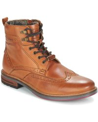 Martino En Hommes Hommes Marron Boots Martino Boots e2IE9HYWD