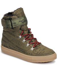 John Galliano Hoge Sneakers 8526 - Meerkleurig