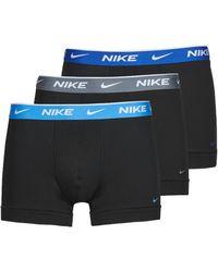 Nike Boxer Everyday Cotton Stretch X3 - Nero