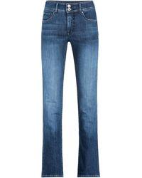 Salsa Jean Secret Push In Slim Jeans - Bleu