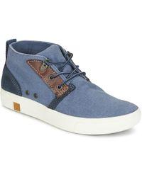 Timberland - AMHERST CHUKKA femmes Boots en bleu - Lyst