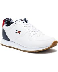 Tommy Hilfiger - Tommy Jeans Casual Rwb Womens White Trainers Trainers - Lyst
