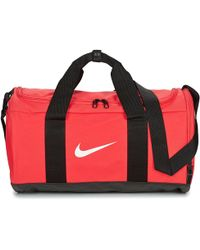 1badda138f Nike Club Teambag Small Duffel Men s Travel Bag In Red in Red for ...