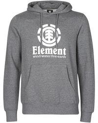 Element Sweat-shirt VERTICAL HOOD - Gris