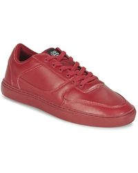 Sixth June Lage Sneakers Seed Essential - Rood
