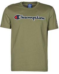 Champion - T-shirt Korte Mouw 214194 - Lyst