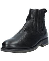 Antica Cuoieria 20978 ANKLEBOOT NOIR Boots
