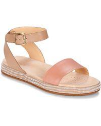 Clarks - Botanic Ivy Women's Sandals In Beige - Lyst