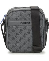 Guess 4g Sport Mini Pouch - Gray