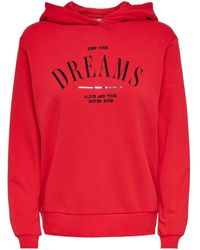 ONLY Sweat-shirt - Rouge