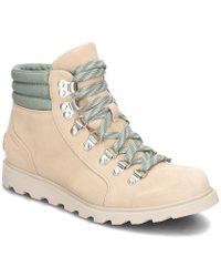Sorel Ainsley Conquest femmes Chaussures en Beige - Neutre