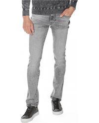 Guess M0YAN2 D4381 angels Jeans skinny - Gris