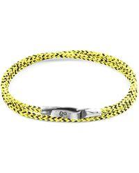 Anchor & Crew Anchor Crew Yellow Noir Liverpool Bracelet Bracelet