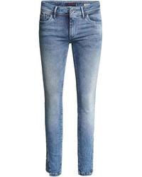 Salsa JeanPush Up Cropped Jeans - Bleu