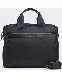 Tommy Hilfiger Laptop-Taschen AM0AM05023 ELEVATED NYLON COMPUTER - Blau
