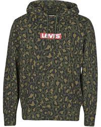 Levi's Sweater Levis Graphic Po Hoodie B Ssnl Boxtab - Groen