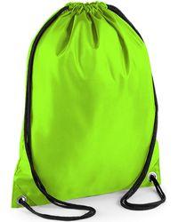 Bagbase BG5 garcons Sac de sport - Vert