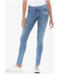 Le Temps Des Cerises Viola pulp slim jeans bleu Jeans