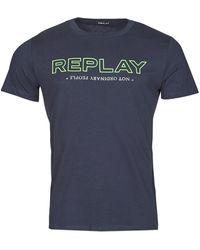 Replay M3427 T-shirt - Bleu