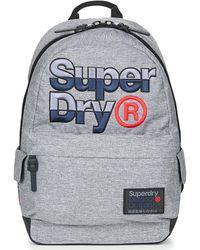 Superdry Rugzak Mega Logo Montana - Grijs