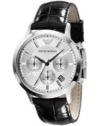 Armani Horloge Ar2432 - Zwart