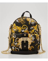 Versace E1vzabf9-71579 Backpacks Woman Nero/oro Backpack - Multicolour