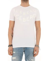Iceberg 1MTS01 T-shirt - Blanc
