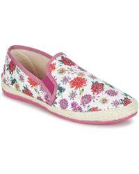 190732f28406 Desigual - Taormina Galactic Rose Women s Slip-ons (shoes) In Pink - Lyst
