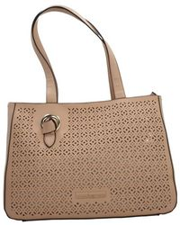 Roccobarocco - Robs2jw02 Women's Bag In Beige - Lyst