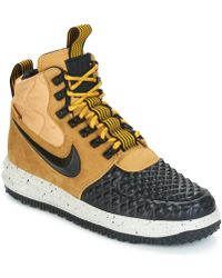reputable site c3524 442db Nike - Lunar Force 1  17 Duckboot Men s Shoes (trainers) In Brown -
