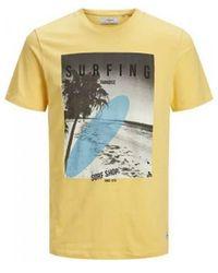 Produkt T-SHIRT MANCHES COURTES POUR HOMME 12170733 T-shirt - Jaune