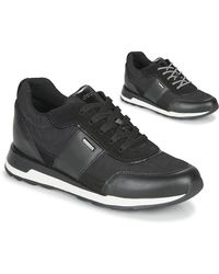 Geox Lage Sneakers New Aneko B Abx - Zwart