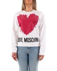 Love Moschino Sweater W6306 43 M4282 - Wit