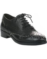Miglio Chaussures à lacets femme - - Noir - 36 femmes Chaussures en Noir