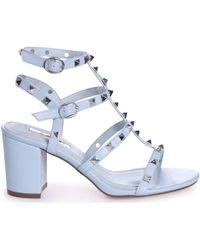 9c09a5f71e5 Sam Edelman Bentlee Leather Platform Sandals in Brown - Lyst