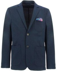 AT.P.CO GEGE B chaquetas hombre azul