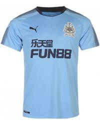 PUMA - 2017-2018 Newcastle Away Football Shirt Men s T Shirt In Blue - Lyst d6a4f7144