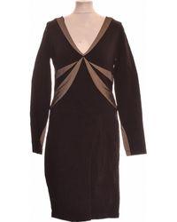 BCBGMAXAZRIA Robe Courte 40 - T3 - L Robe - Noir