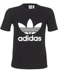 adidas Originals Camiseta ORIGINAL TREFOIL CV9888 - Negro