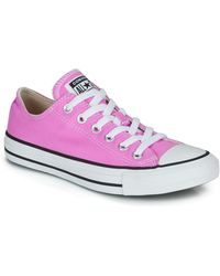 Converse - Lage Sneakers Chuck Taylor All Star Seasonal Color - Lyst