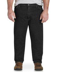 Kebello Jeans grandes tailles Taille : H Noir 46 Jeans