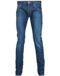 Armani Jeans - J20 Extra Slim Fit Jeans 6y6j20 6d31z Men's In Blue - Lyst