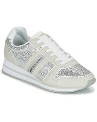 Versace Jeans - Stella Vrbsa1 Women's Shoes (trainers) In Silver - Lyst